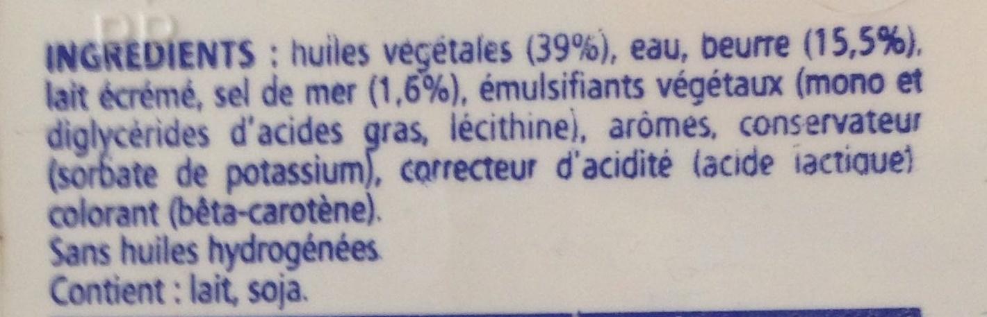 Le Fleurier - Ingrédients - fr
