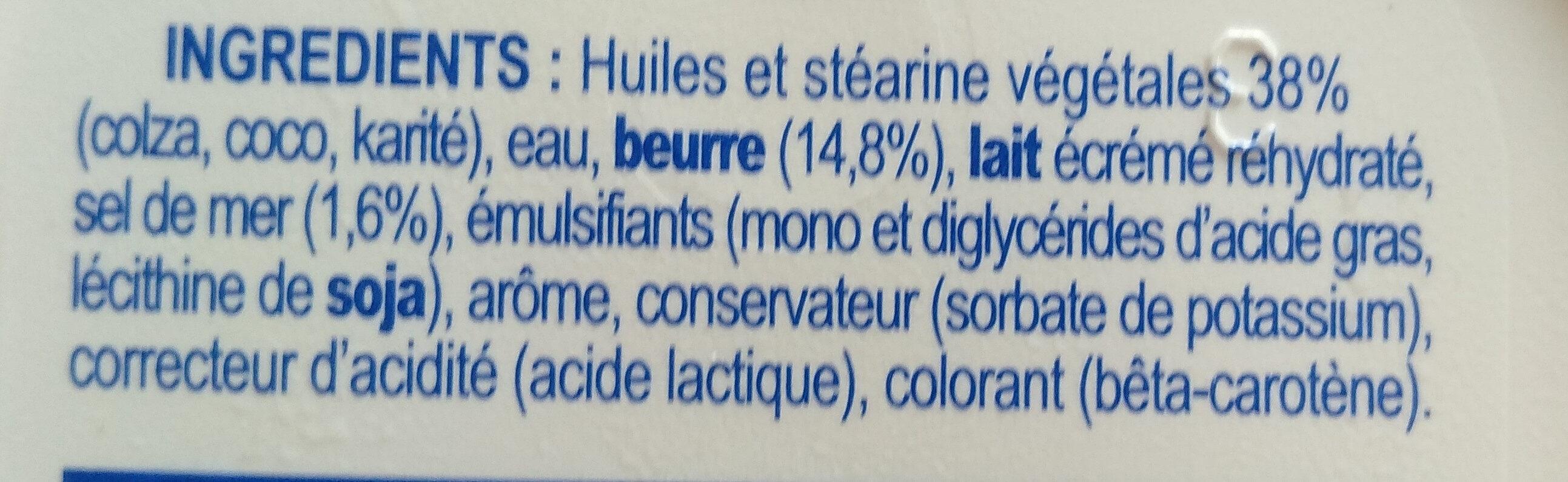 Le Fleurier demi-sel - Ingredients