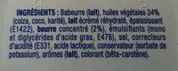 St Hubert 41 doux sans huile de palme - Ingrédients - fr