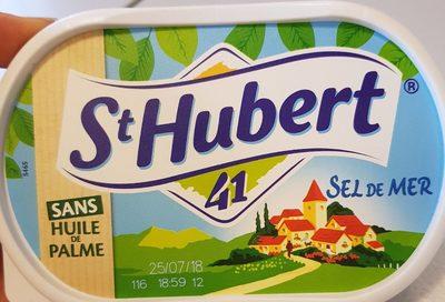 St Hubert 41 sans huile de palme sel de mer - Produit