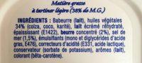 St Hubert 41 demi sel sans huile de palme - Ingrédients - fr