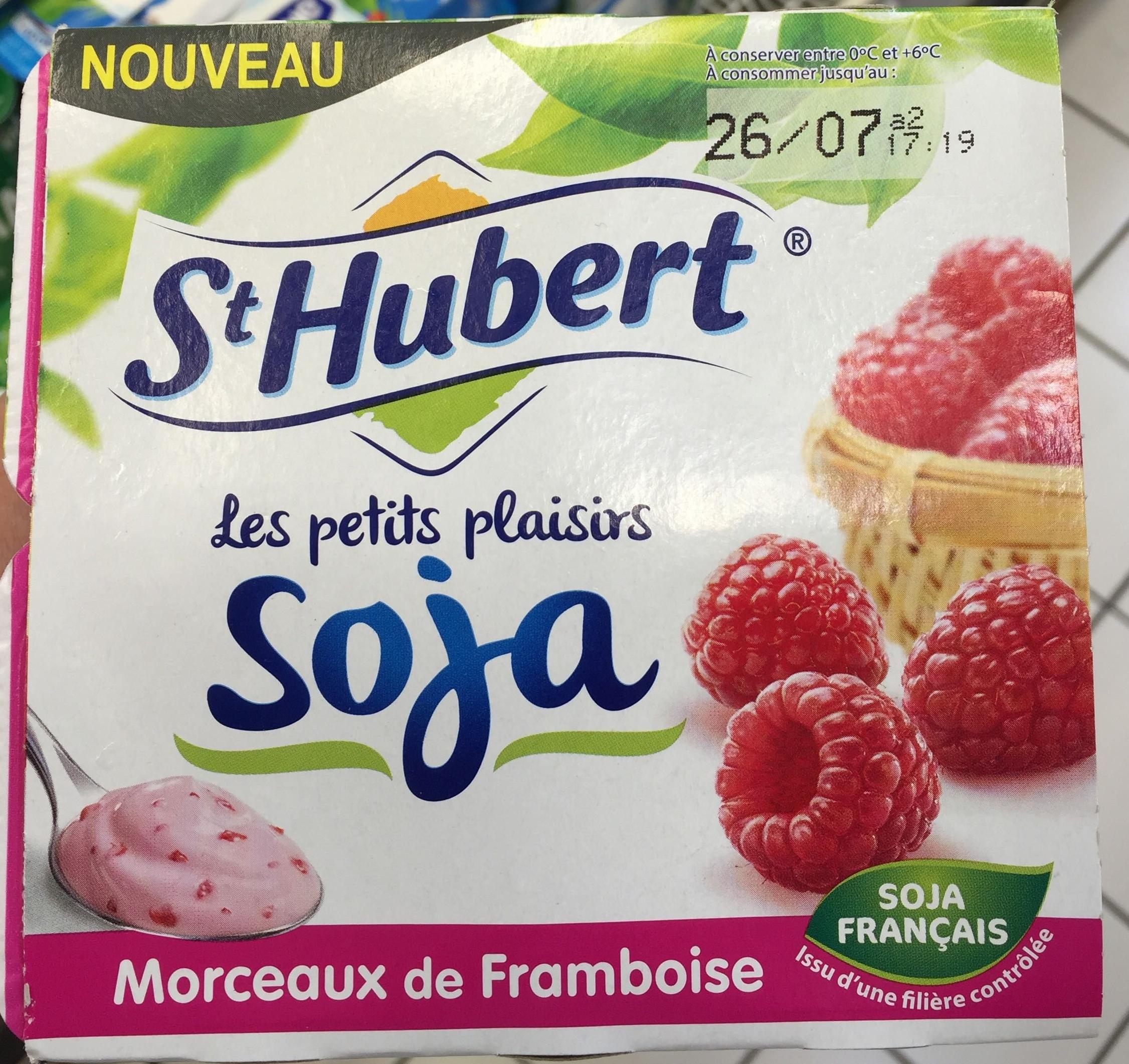 Les petits plaisirs Soja Morceaux de Framboise - Product
