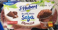 Les petits plaisirs Soja Mousse Chocolat noir - Product - fr