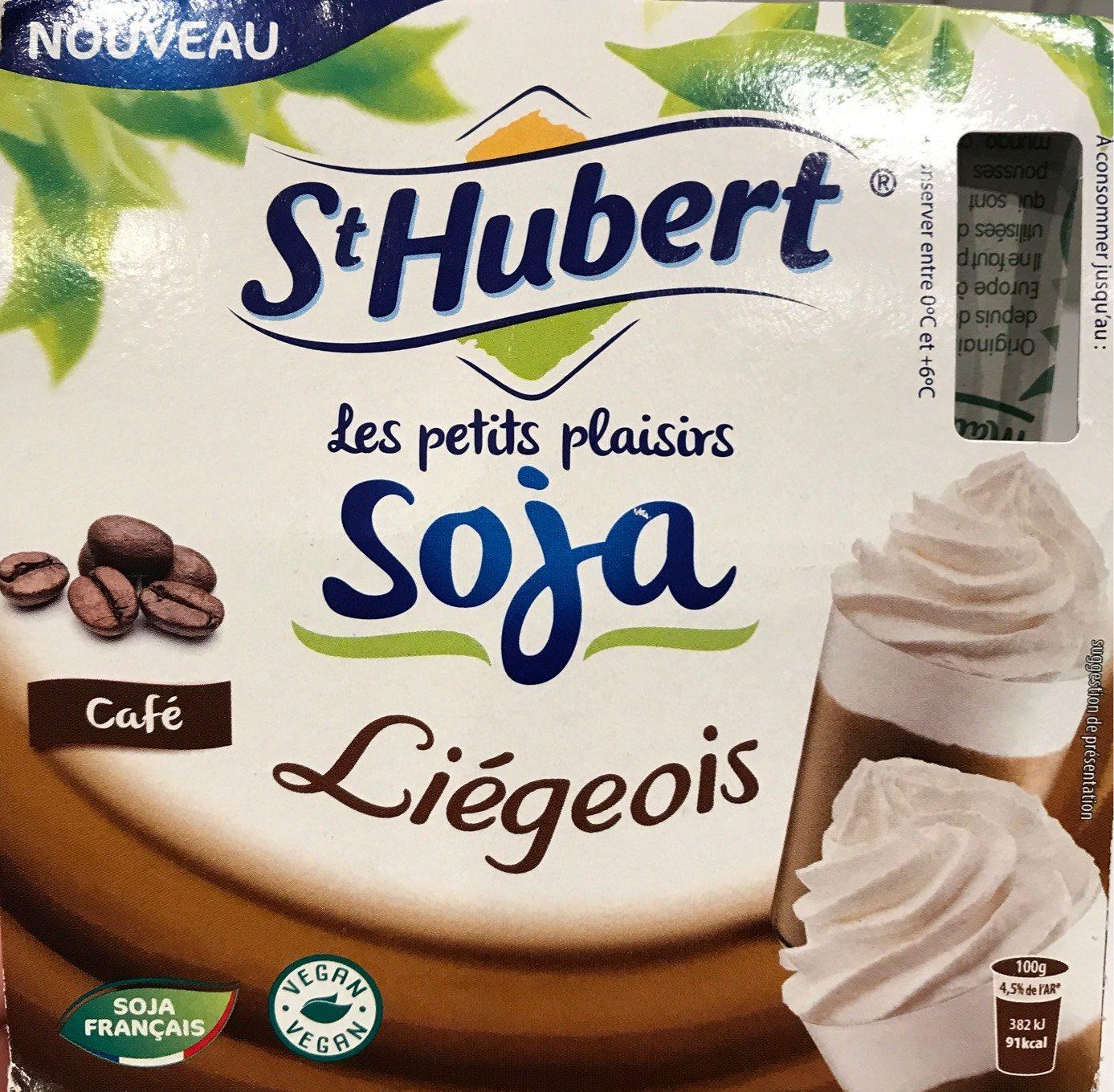 Liégeois soja café - Product - fr