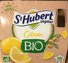 St Hubert Végétal Citron Bio - Produit