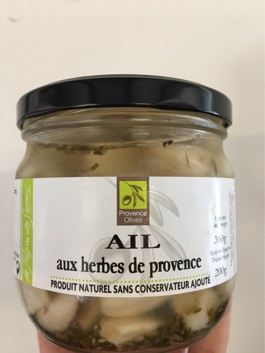 AIL aux herbes de provence - Produit