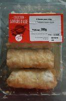 4 nems au porc + 1 sauce Nuoc Mam - Product - fr