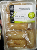 Mini nems poulet + sauce nuoc mam - Produit - fr