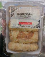 Nems Poulet sauce Nuoc Mam - Product - fr