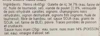 Nems Poulet sauce Nuoc Mam - Ingredients - fr