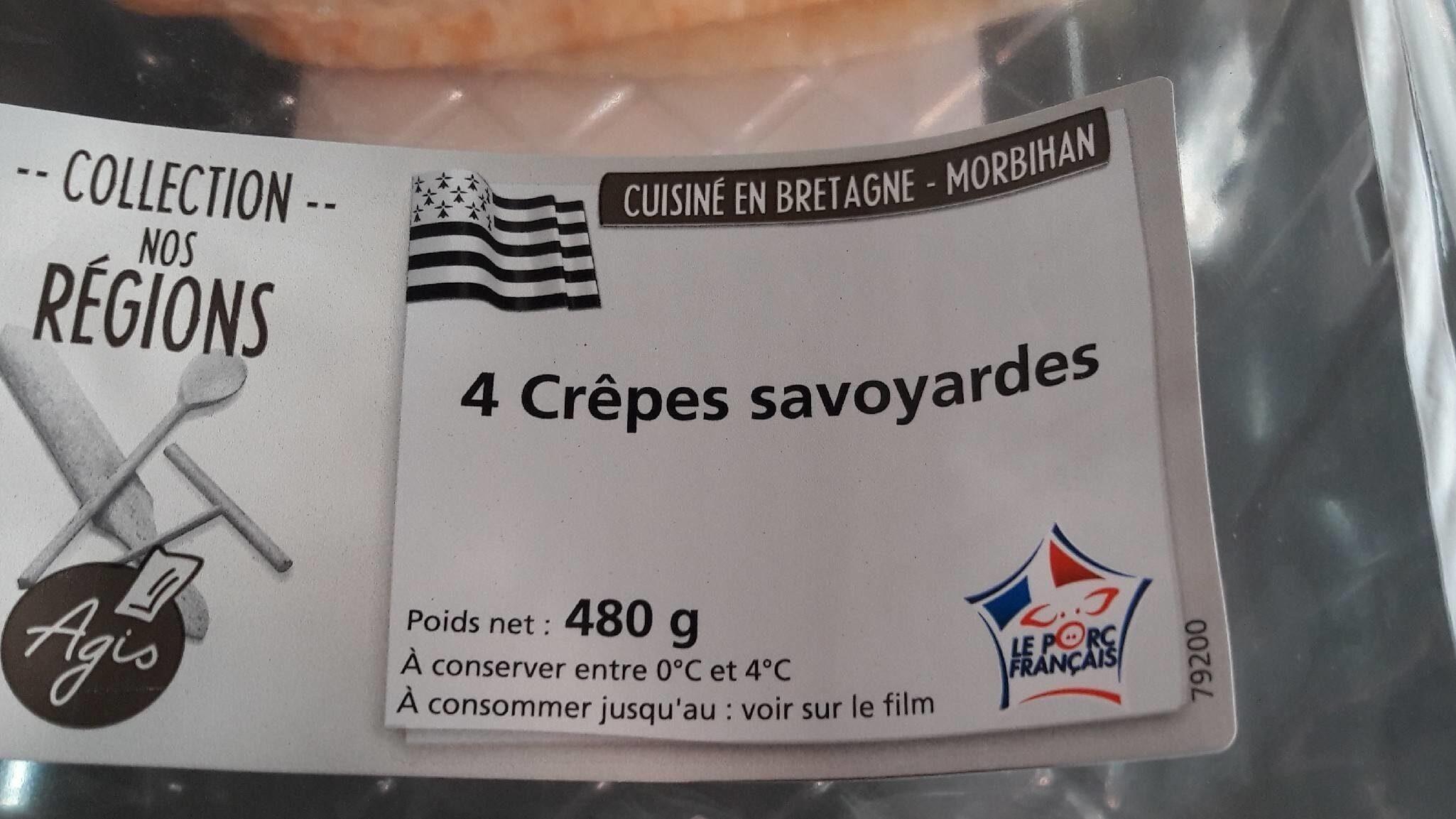 Crêpes savoyardes TOP AFFAIRE - Produit - fr