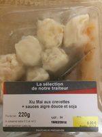 Xiu Mai aux Crevettes + Sauces Aigre Douce et Soja - Product
