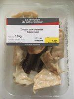 Gyozas aux crevettes + sauce soja - Product - fr