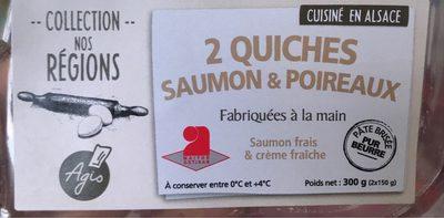 Quiches saumon & poireaux - Product