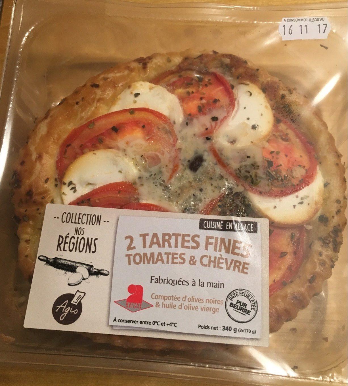 Tartes fines tomates chevre - Product