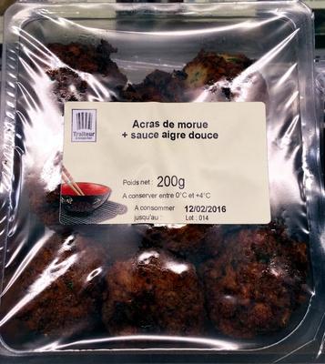 Acras de morue + sauce aigre douce - Product