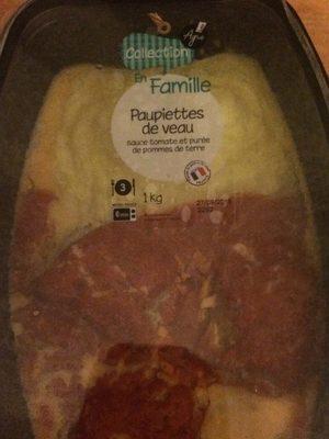 Paupiettes de veau - Produit - fr