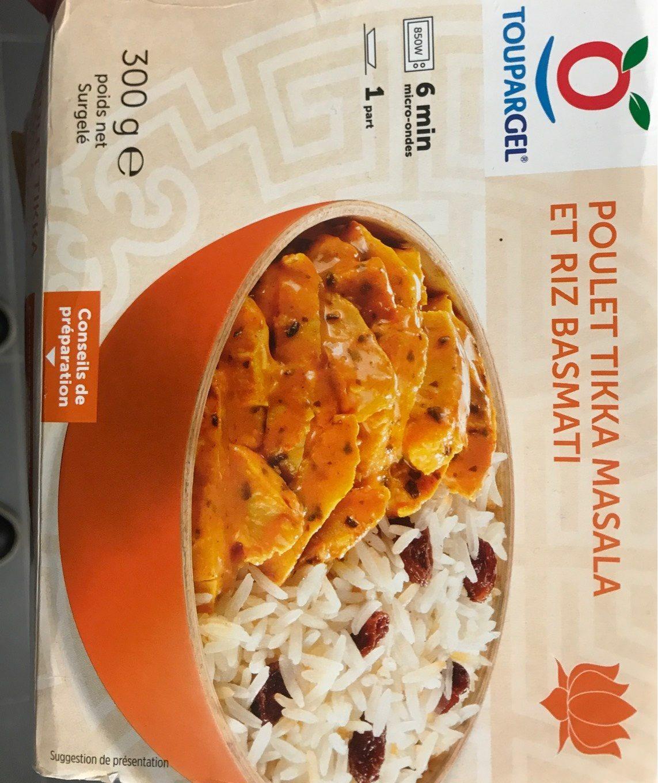 Poulet tikka masala et riz basmati - Product
