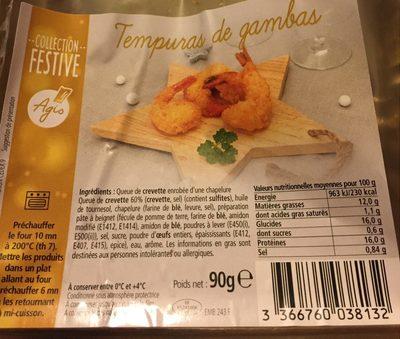 Tempuras de gambzd - Product - fr