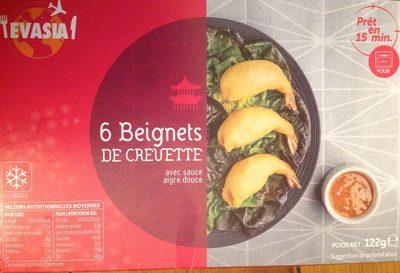 6 Beignets de Crevette - Produit