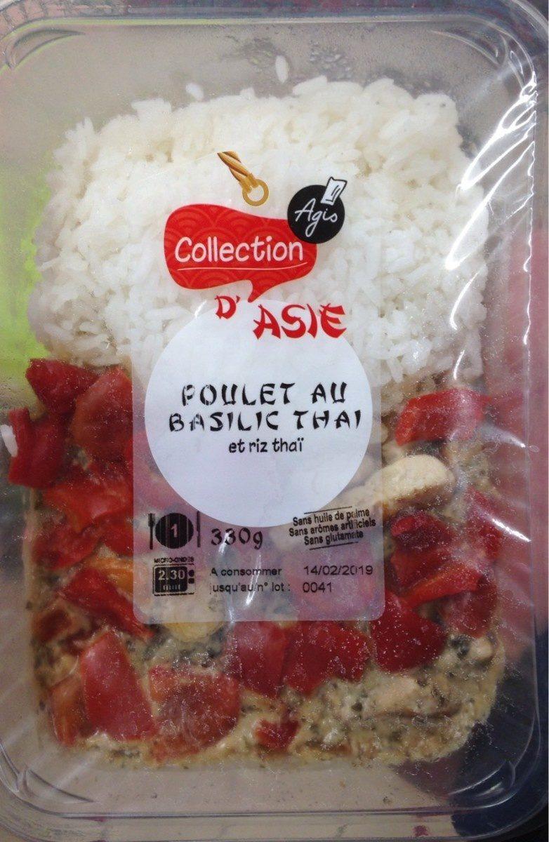 Poulet au basilic thaï - Produit - fr