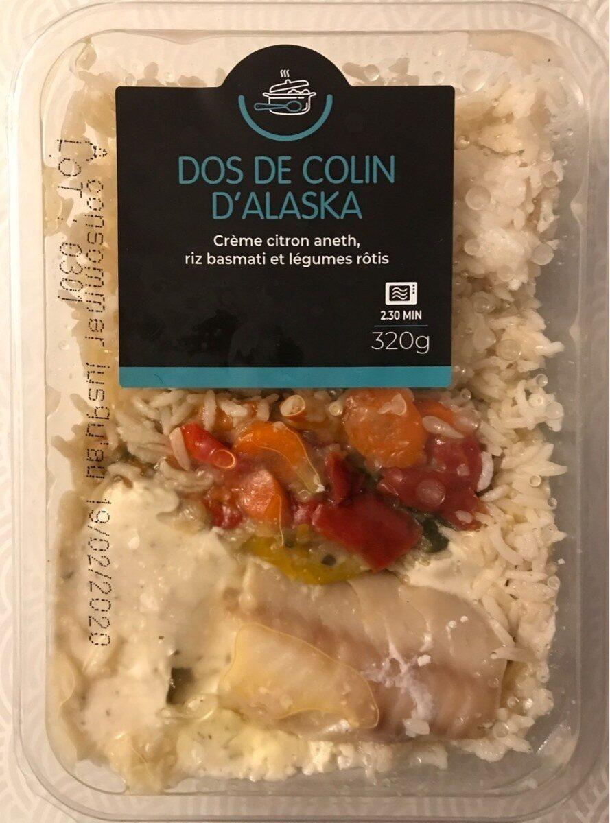 Dos de Colin d'Alaska - Product - fr