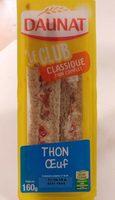 Le club classique Thon oeuf - Product - fr