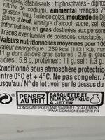 Les Minis Maxi Moelleux Jambon Emmental - Instruction de recyclage et/ou informations d'emballage - fr