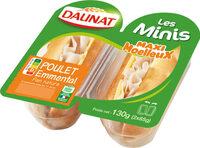 Minis blanc de poulet emmental - Product - fr