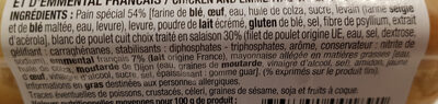 Minis blanc de poulet emmental - Ingrediënten - fr