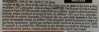 XXL poulet rôti et mayonnaise (3 parts) - Ingrediënten
