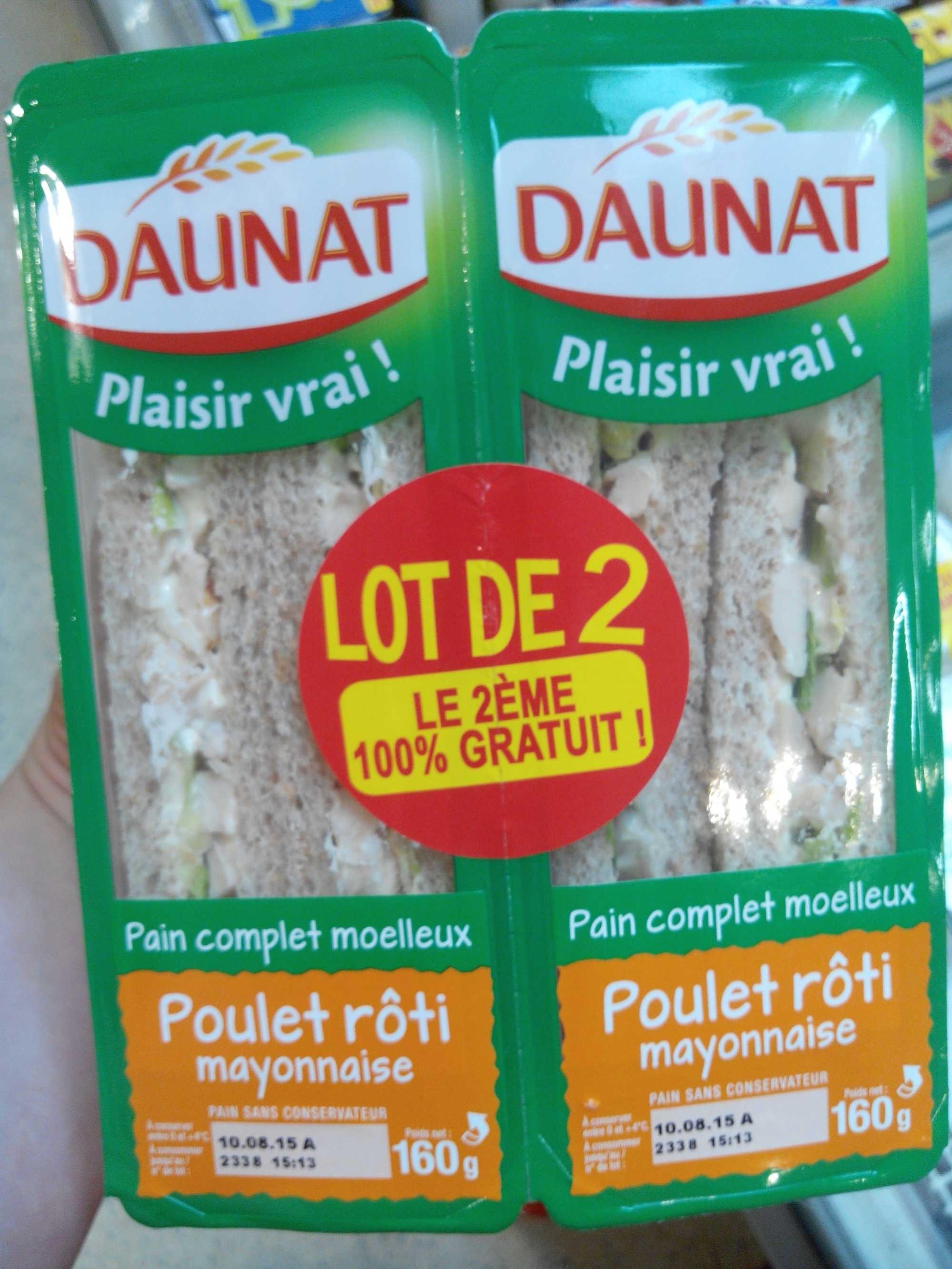 Plaisir vrai! Poulet rôti Mayonnaise - Produit - fr