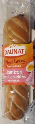 Le moelleux, Pain viennois, Jambon Oeuf Crudités Mayonnaise - Produit