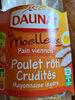 Le moelleux Poulet rôti Crudités Mayonnaise - Product