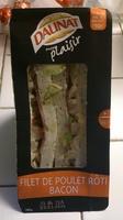 filet de poulet rôti bacon - Produit - fr