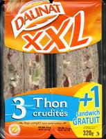 XXL 3 thon crudités + 1 gratuit - Produit - fr