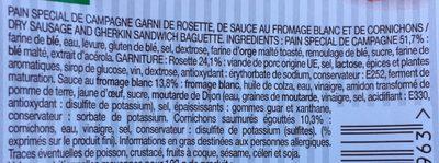 Saucisson Sec Cornichons Le Gouteux - Ingrédients - fr