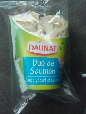 Wrap duo de saumon, sauce yaourt et herbes - Product - fr