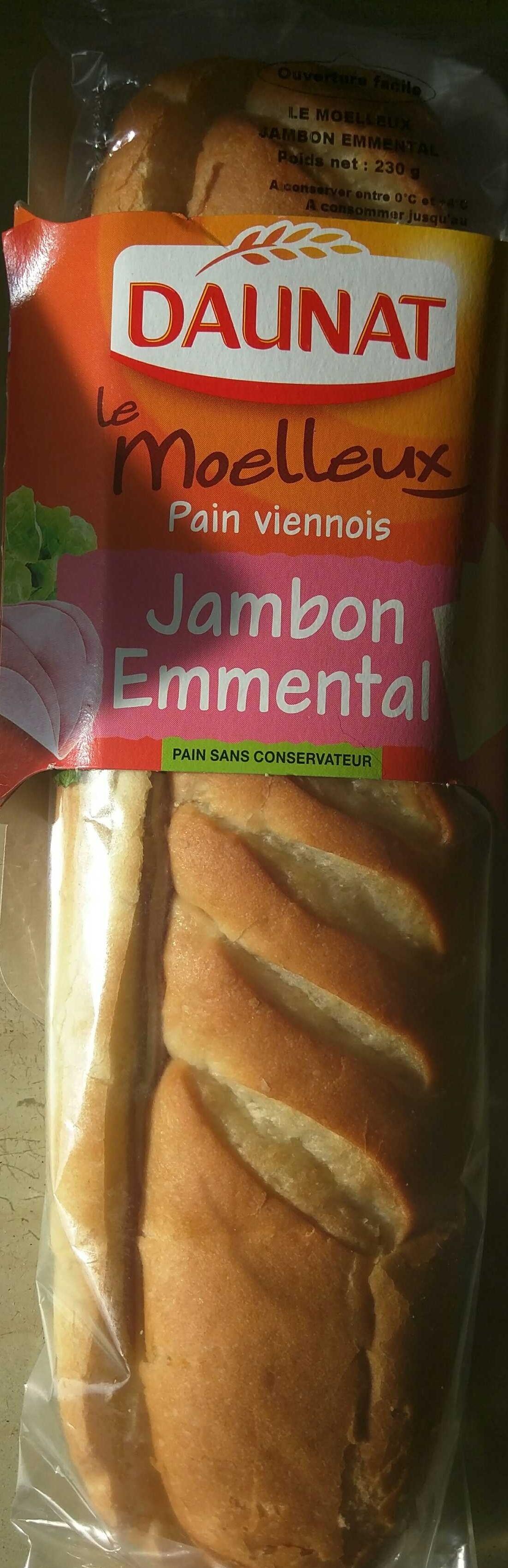 Le Moelleux Jambon Emmental - Producto