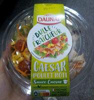 Poulet salade crudité sauce caesar - Produit - fr