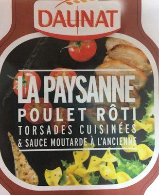 Poulet rôti Torsades cuisinées & Sauce Moutarde à l'Ancienne - Product