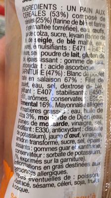 Pocket's Poulet Emmental - Ingrediënten - fr
