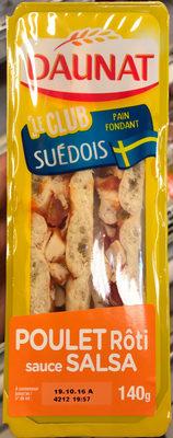 Le Club Suédois Poulet Rôti sauce Salsa - Product