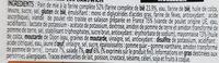 Sandwich XXL poulet rôti oeuf - Informations nutritionnelles - fr