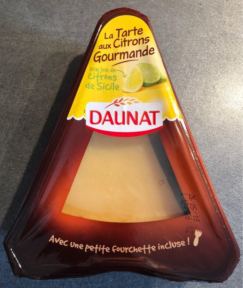 La Tarte aux Citrons Gourmande (aux jus de Citrons de Sicile) - Product