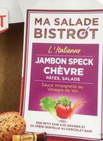 Ma Salade Bistrot Pates Jambon Speck Chevres - Produit