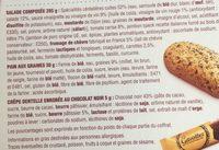 Ma Salade Bistrot Pates Jambon Speck Chevres - Ingrediënten - fr