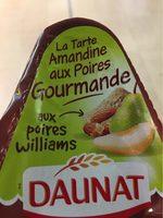 Tarte Amandine aux poires gourmande - Product