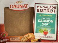 Ma salade Bistrot Pates Saumon Oeuf - Product - fr