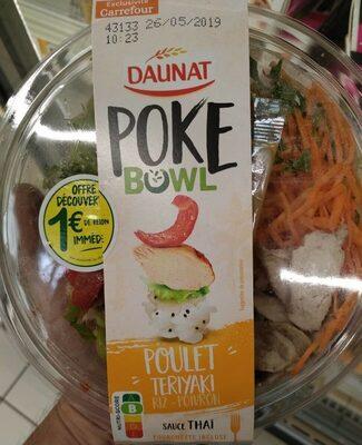 Poke bowl poulet teriyaki - Produit - fr